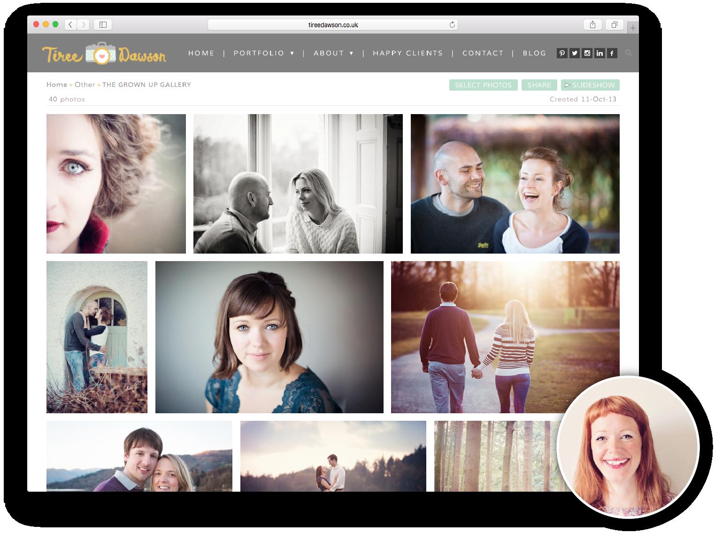Tiree Dawson Website Example